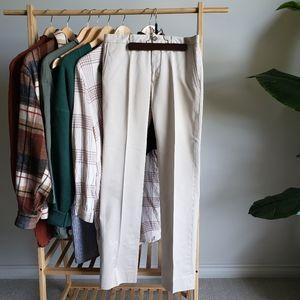 BURBERRY Light Tan Dress Pants